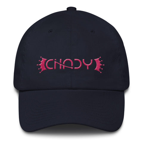 CHADY Pink on Navy Cotton Cap - Chady Elias