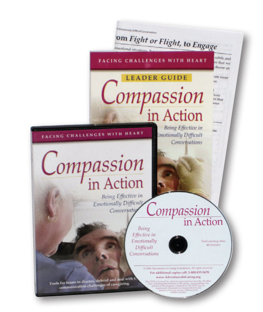 Vol 2: Compassion in Action: Being Effective in Emotionally Difficult Conversations