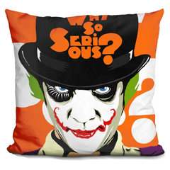 A Clockwork Joker Pillow