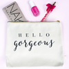 Image of Hello Gorgeous Makeup Bag
