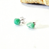 Image of Green Aventurine Stud Earrings