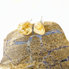 Image of Citrine Stud Earrings