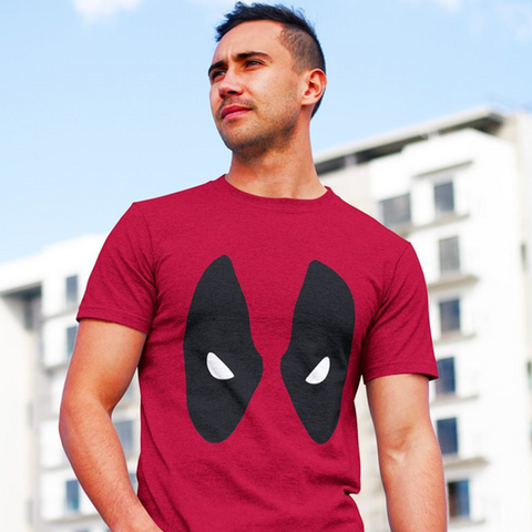 Marvel Comics Deadpool Mask T-Shirt