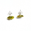 Image of Peridot Stud Earrings