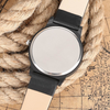 Image of The Clearview -  Genuine Leather Band Watch