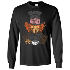 Long Sleeve Mad Hatter T-Shirt