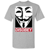 Image of Guy Fawkes Disobey T-Shirt