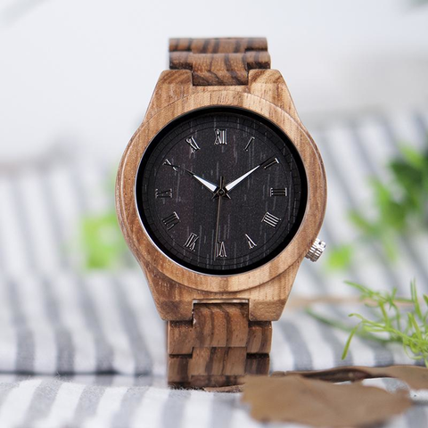Our Stripes- Wood Watch