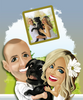 Image of Custom Digital Caricature For Your Family