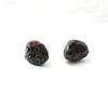 Image of Raw Garnet Stud Earrings