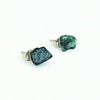 Image of Bloodstone Stud Earrings