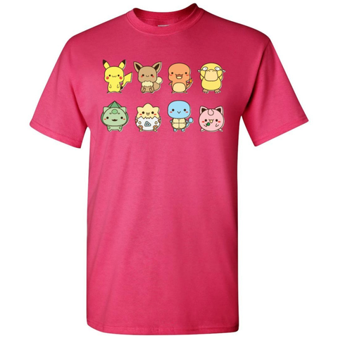 Pika and Friends Tee