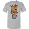 Image of Cute Baby Groot in Sports Grey Unisex