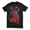 Image of Deadpool Typographic T-shirt