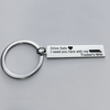 Image of Drive Safe Trucker Keyring