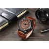 Image of Mahogany Mean - Genuine Leather Band Watch