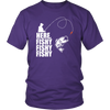 Image of Funny Fishing Tee - Here Fishy! !! !!!