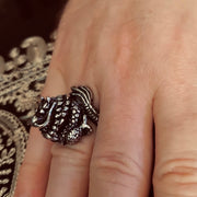 Heavy Metal Heart© Men's Chinese Dragon Ring