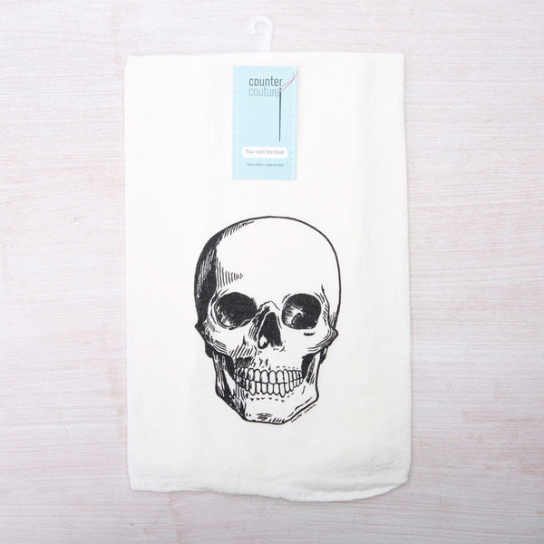 Skull Sack Floor Sack Towel | HometoNest