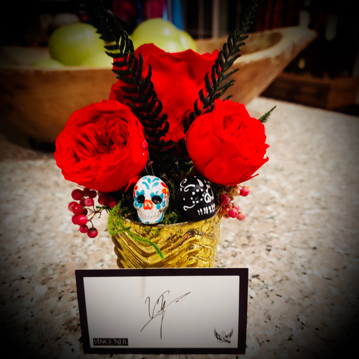 "Vince Neil© ""My Love is Eternal!"" Precious Floral Gift"