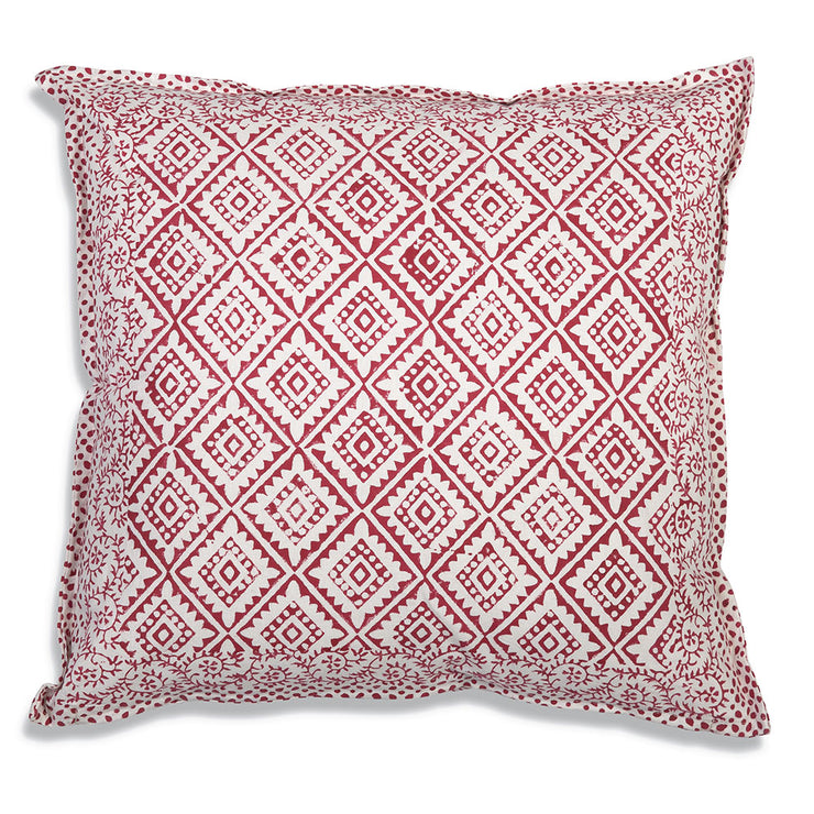 BOHO Red Diamond Throw Pillow Sale - Mix & Match - only $15.00 each