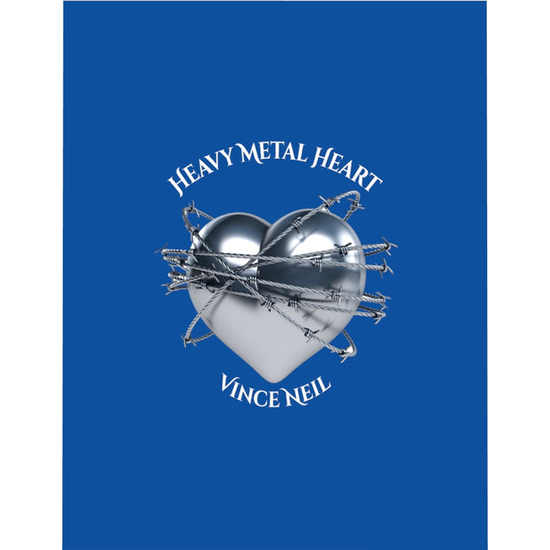 Heavy Metal Heart© Microfiber Duvet Cover
