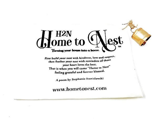 Home to Nest Travel Bag - poem by Stephanie Stanislawski