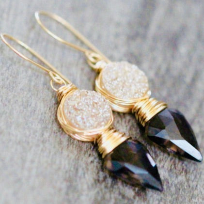 Saressa Compass Earrings