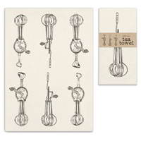 Egg Beater Kitchen & Tea Towel