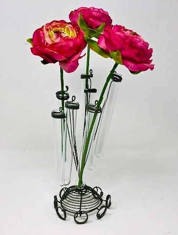 Spring Test Tube Bud Vase | HometoNest