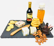 Rustic Slate Cheese Board, Maple Wood Cheese Server