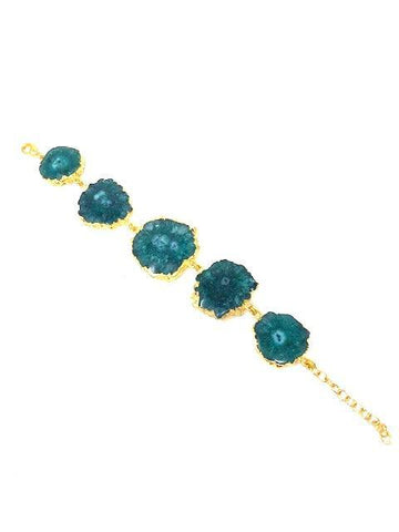 "41 % off ""I Love You as Deeply as the Deep Blue, Green Sea"" Reef Runner Bracelet In Green"