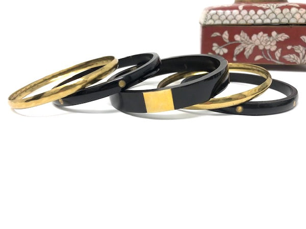 Bachata Brass Bangle | HometoNest