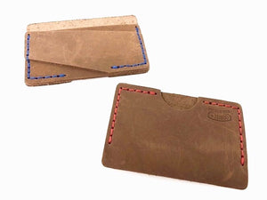 Artisan Leather Slim Cash & Card Wallet