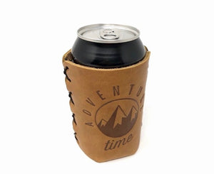 Cooper Leather Can Holder