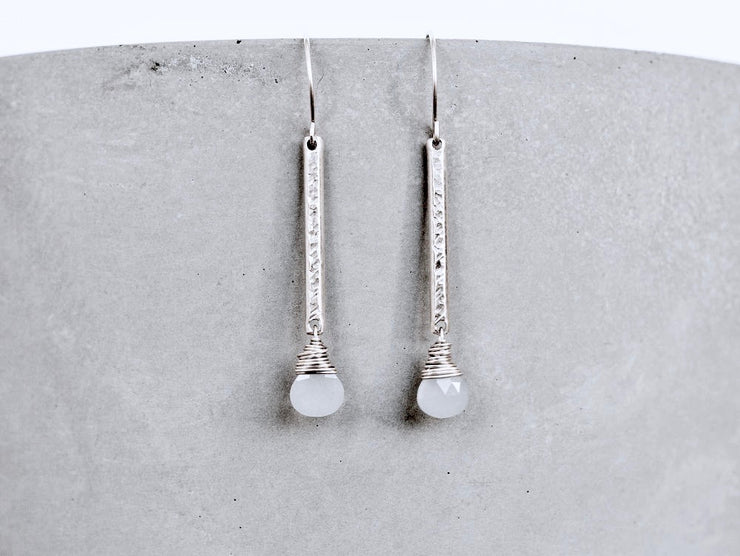 Gleaming Moon Glow Earrings