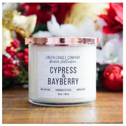 Cypress & Bayberry 16oz Season Soy Candle