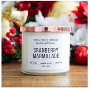 Cranberry Marmalade 16oz Seasonal Winter Soy Candle