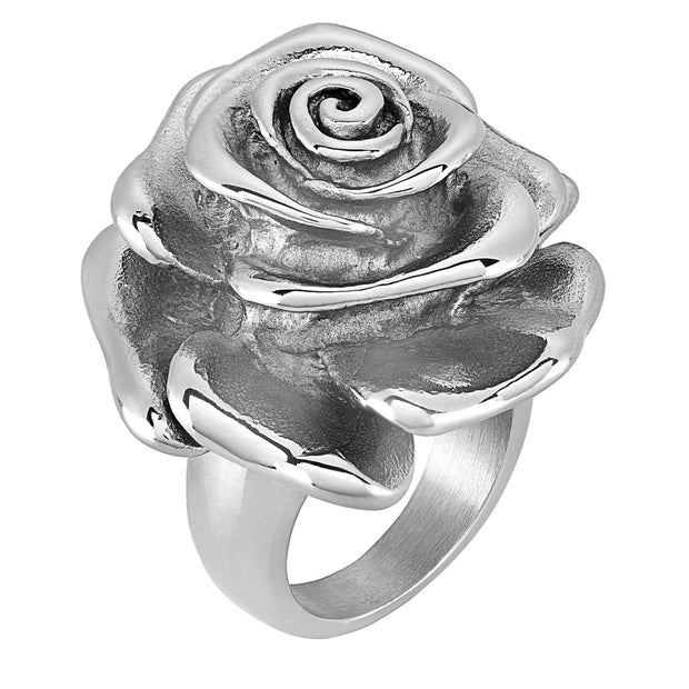 Vince Neil© Day of the Dead Women's Giant Rose Statement Ring
