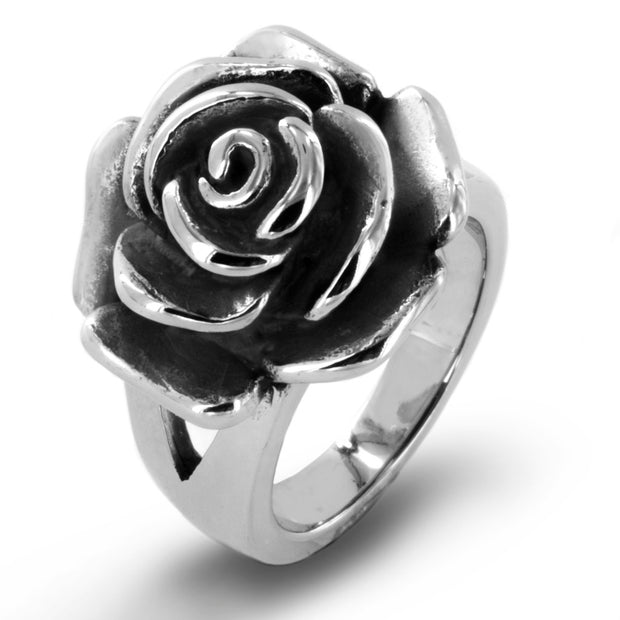 Vince Neil© Day of the Dead Women's Antique Rose Ring