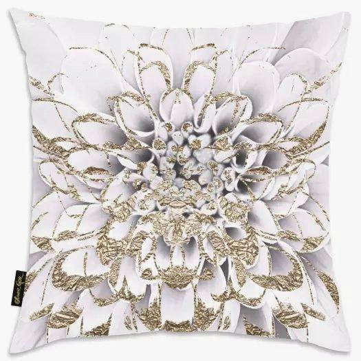 Golden Petals Luxe Pillows