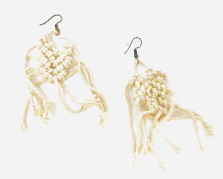 Macramé Chandelier Earrings