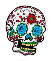 Sunny Buick Candy Sugar Skull Iron On Patch