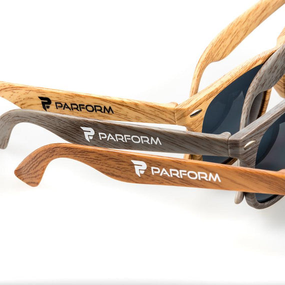 Parform Wood-Look Sunglasses