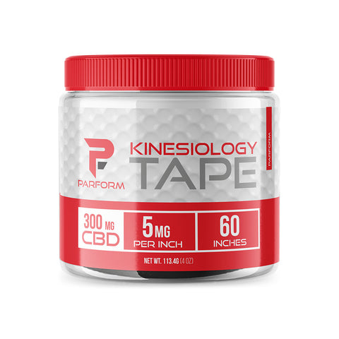 Kinesiology Tape with CBD - Parform Golf