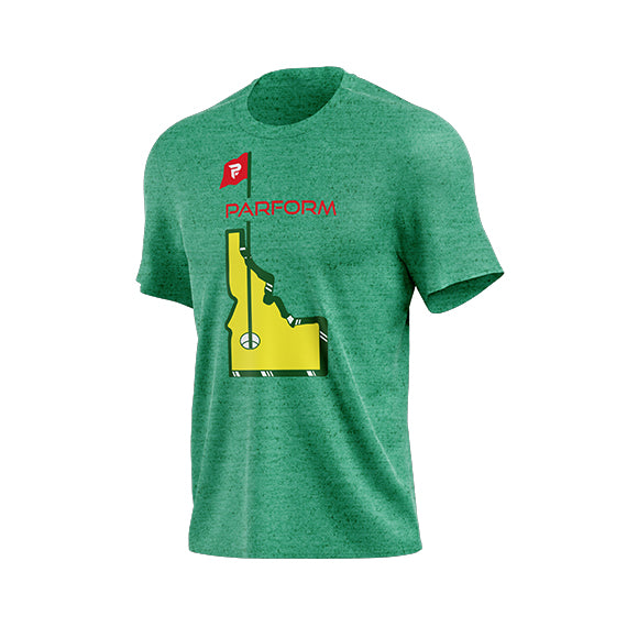 ATHLETIC PARFORM IDAHO TOURNAMENT Tee - Parform Golf
