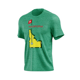 MEN'S ATHLETIC PARFORM IDAHO TOURNAMENT Tee - Parform Golf