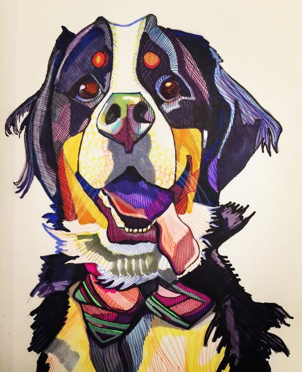 ARTIST HIGHLIGHT: WHIMSICAL ANIMAL & PET PORTRAITS BY KAAREN ANDERSON