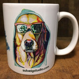 Dog Mug 2017 Side 1 - Solveig Studio