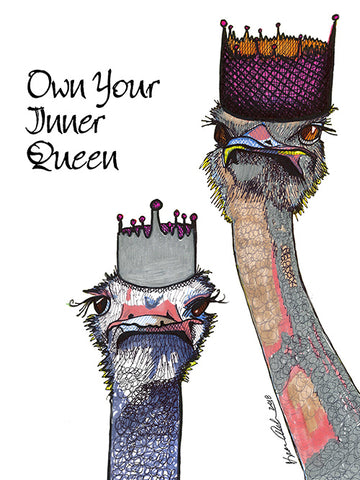 Own Your Inner Queen Poster